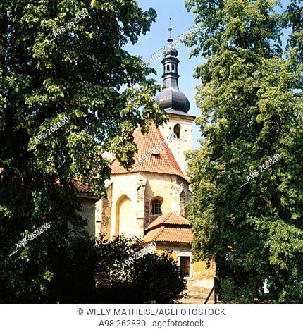 St. Anna pilgrimage chapel. Bohemian Forest. Czech Republic