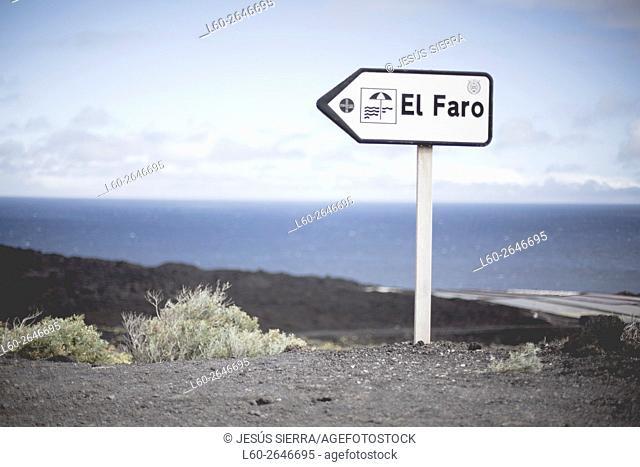 El faro, Fuencaliente, la Palma, Canary islands, Spain