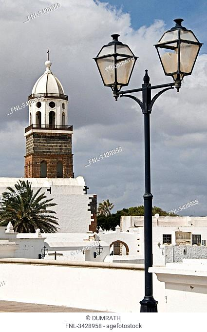 View of San Miguel Church, Teguise, Lanzarote, Spain