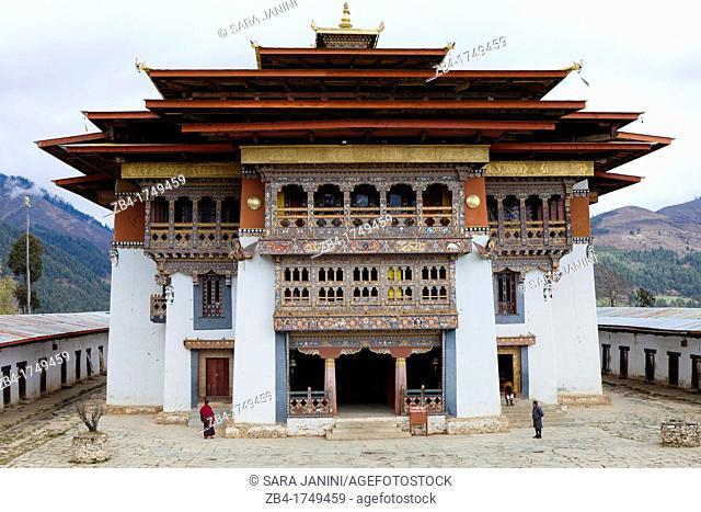 Gangtey Monastery, Gangtey, Bhutan, Asia