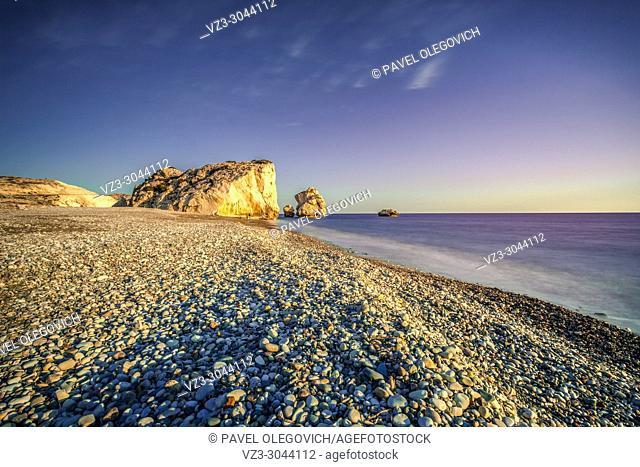 Aphrodite's Birthplace. Crete, Greece