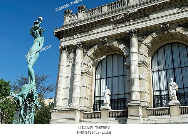 France. Paris 16th district. The Galliera palace, the museum of the fashion of the City of Paris. Architect: Leon Ginain (1894)