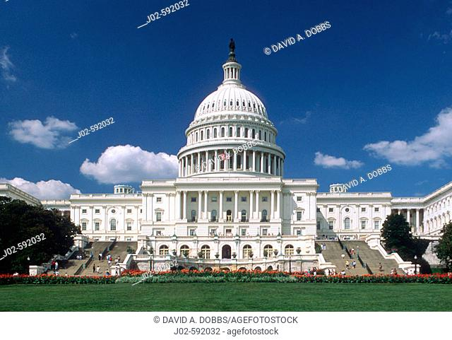 Capitol Building, Washington D.C. USA