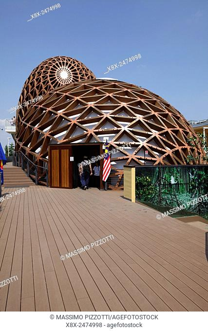Malaysia Pavilion at Milan Expo 2015, Italy