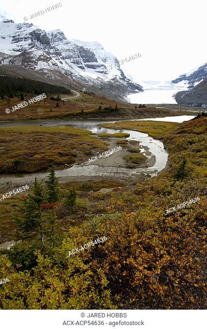 Athabasca Icefields, Banff National Park, Alberta, Canada