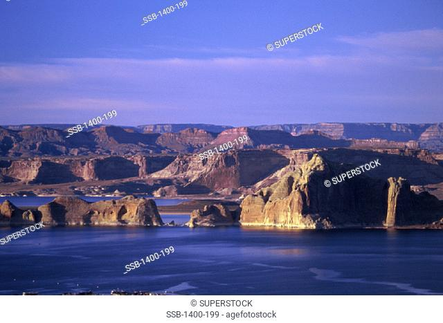 Lake Powell Glen Canyon National Recreation Area Utah USA