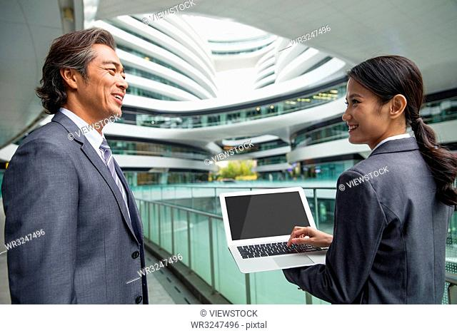 Business people in the outdoor