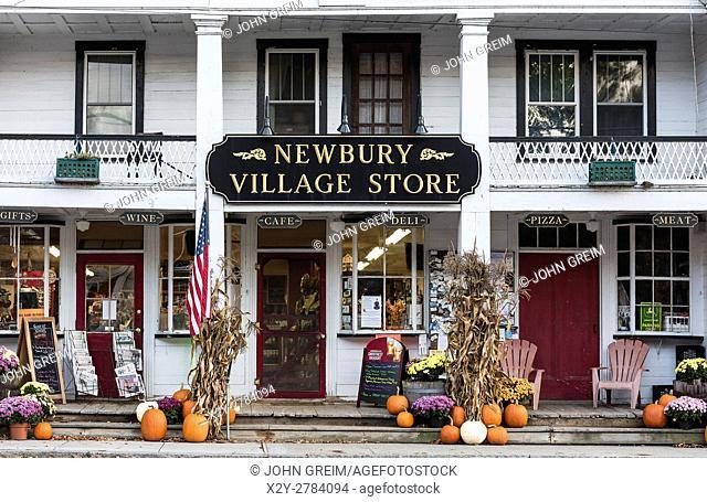 Charming village store, Newbury, Vermont, USA