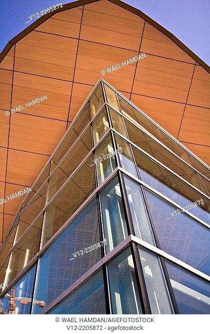 Dubai city, Metro Station Building, United Arab Emirates, Middle East