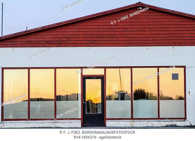 Iceland, Hella, Shop Exterior