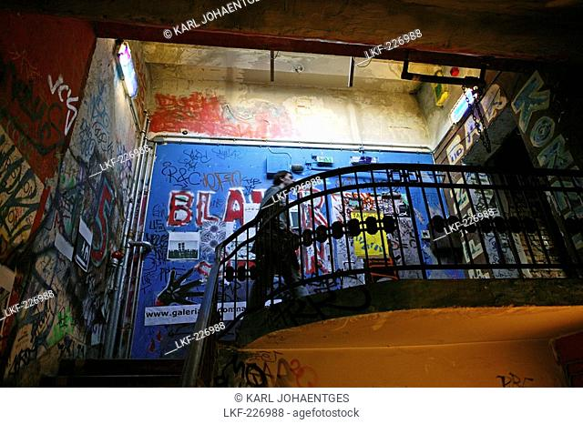 stairway, Art Centre Tacheles, Berlin, Germany