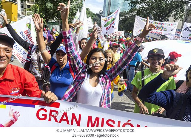 Popular mobilization carried out on December 17 by President Nicolás Maduro, for the peace and sovereignty of Venezuela
