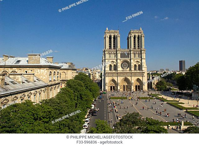 Notre Dame cathedral, Paris. France