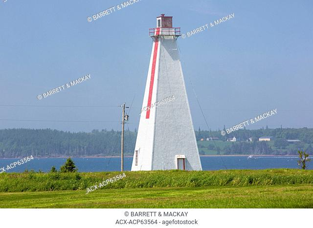 Range light, Nortons Road, Kings County, Prince Edward Island, Canada