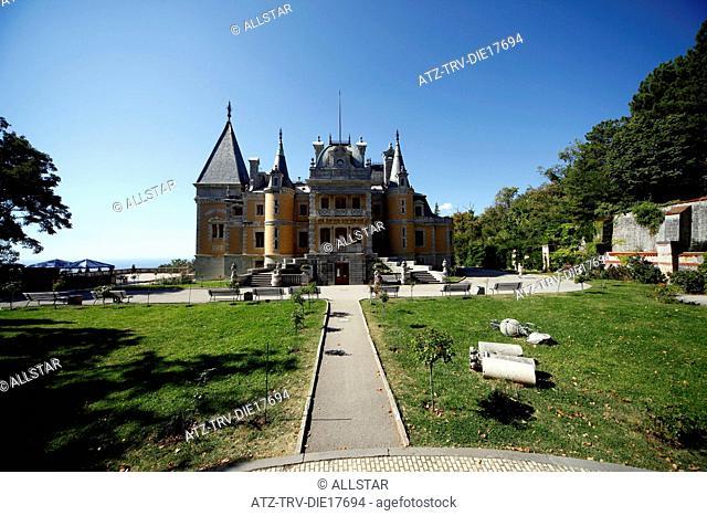 MASSANDRA PALACE; YALTA, CRIMEA, UKRAINE; 27/09/2011