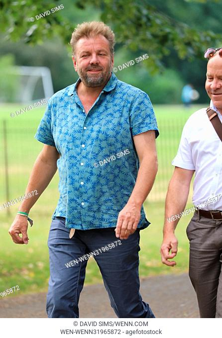 ITV Summer Reception at The Orangery at Kensington Palace - Arrivals Featuring: Dominic Littlewood, Martin Roberts Where: London