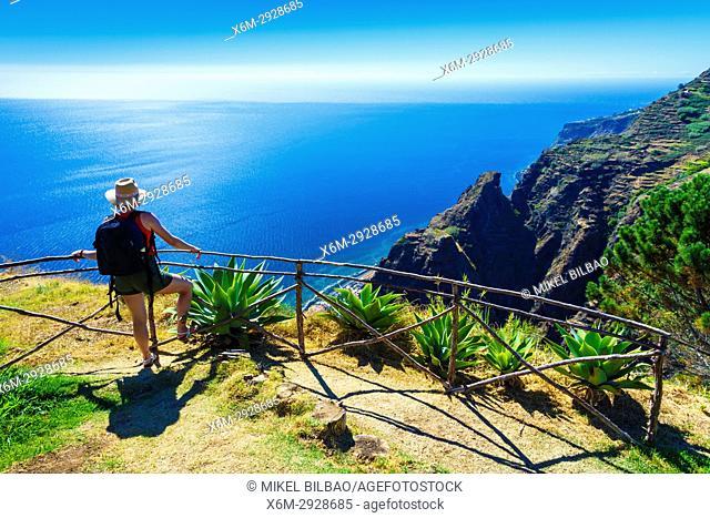 Calheta (Prazeres). Madeira, Portugal, Europe