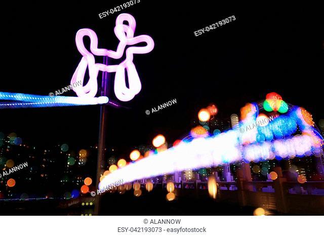 a Sha Tin Festive Lighting at hk 2017