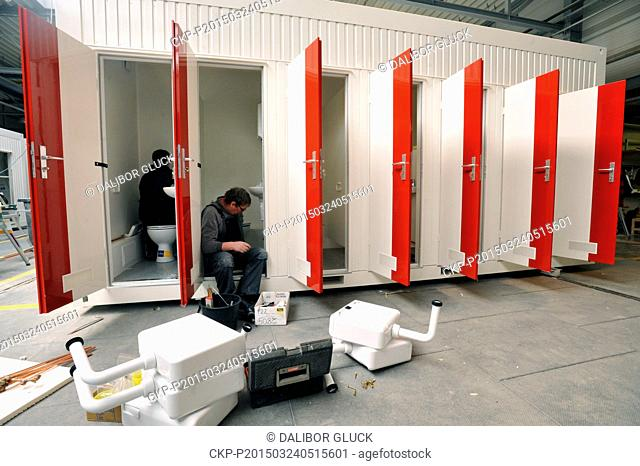 Koma Modular, a Czech manufacturer of habitable, sanitary and energy efficient containers, increased its turnover by Kc150m year-on-year to Kc605m in 2014