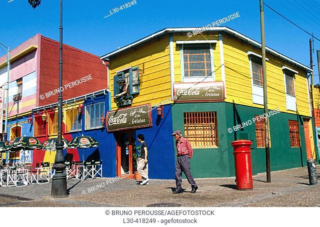 Caminito street, La Boca district. Buenos Aires. Argentina