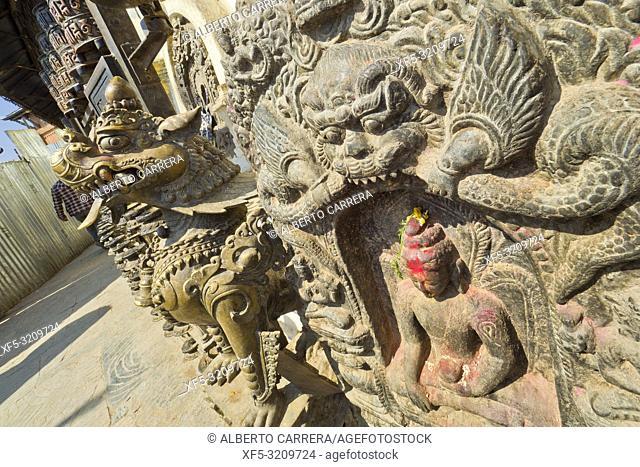 Swayambhunath Temple, Monkey Temple, UNESCO World Heritage Siite, Kathmandu, Nepal, Asia