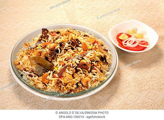 Non Vegetarian Food Chicken Biryani India Asia PR#743AH
