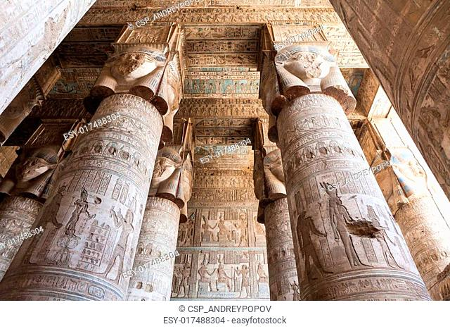 Dendera Temple In Egypt