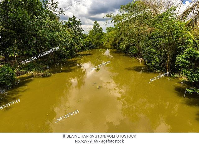 Backwaters, Cai Lay, Mekong Delta, Vietnam