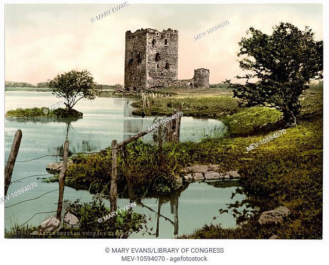 Threave Castle, Castle Douglas, Scotland. Date between ca. 1890 and ca. 1900