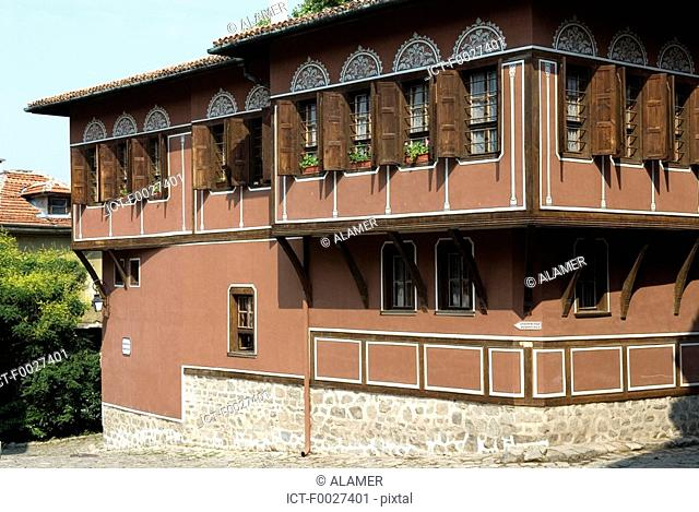 Bulgaria, Plovdiv, old city, Balabanov house