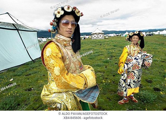 Horse festival, Litang, Sichuan, China