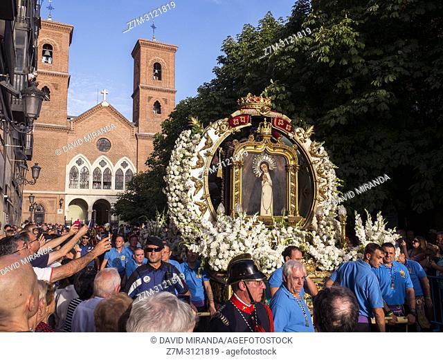 Fiestas de La Paloma. Madrid, Spain