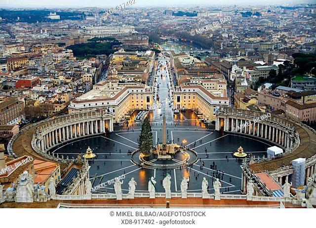 Saint Peter's Square , Vatican City, Rome