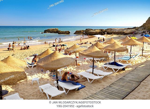 Albufeira Beach, Algarve coast, Portugal