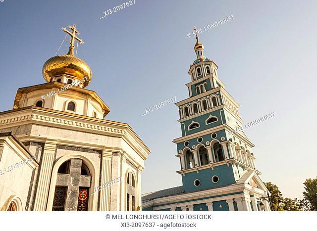 Saint Uspensky Sobor Russian Orthodox Assumption Cathedral, Tashkent, Uzbekistan