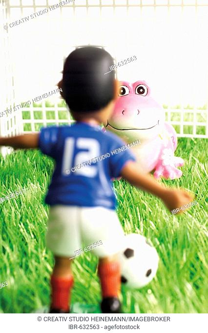 Sei kein Frosch (don't chicken out): penalty shoot-out