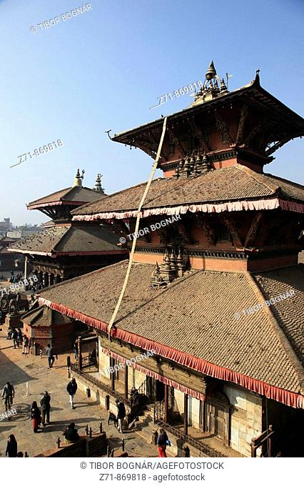 Nepal, Kathmandu Valley, Patan, Durbar Square, Bhimsen Mandir