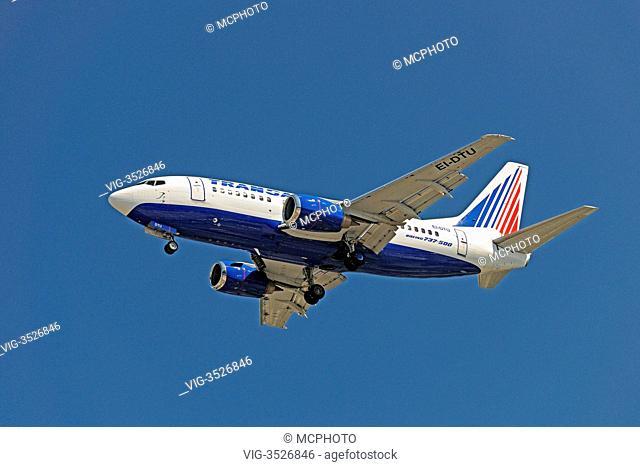 boeing 737500, air company Transaer - 02/06/2009