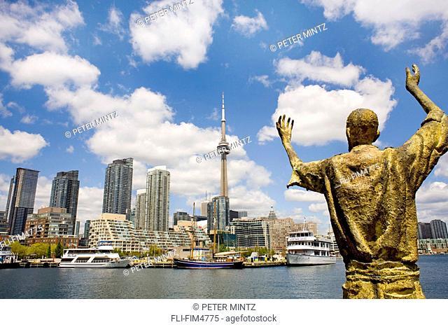 View of the City from Ireland Park, Toronto, Ontario