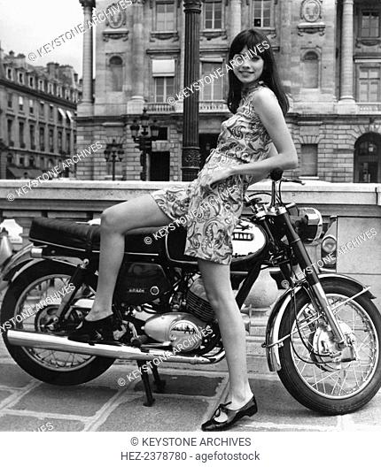 Marie-Christine Deshayes, French model and actress, c1970s(?)