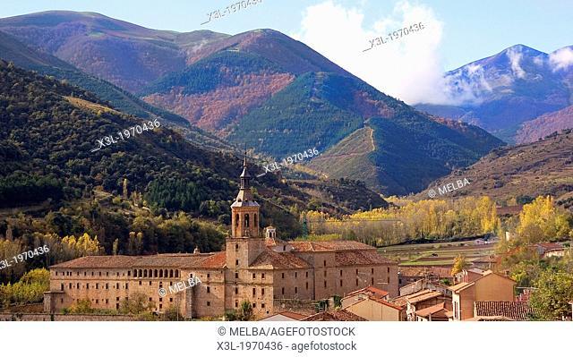 Monastery of Yuso. San Millán de la Cogolla. La rioja. Spain