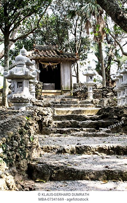 Temple of Kabira on Ishigaki in Japan