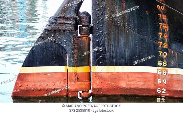 Ships depth gauge