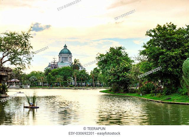 The Ananta Samakhom Throne Hall, Bangkok, Thailand