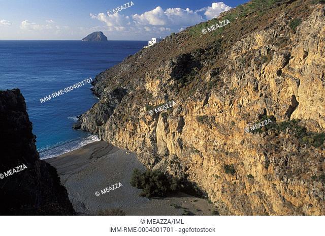 Sparragariu Beach Kythira, Ionian Islands, Greece