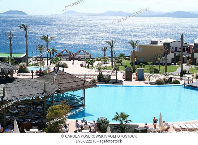 Hotel. Playa Blanca. Lanzarote. Canary Islands. Spain