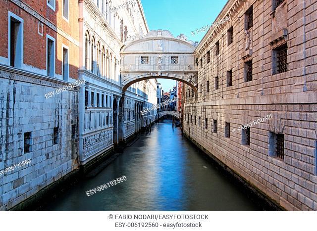 Bridge of Sighs Venice Italy