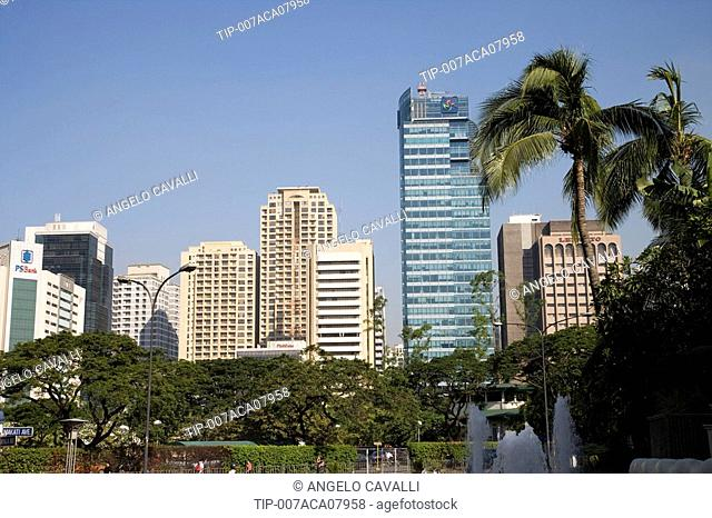 Philippines, Manila, Makati District