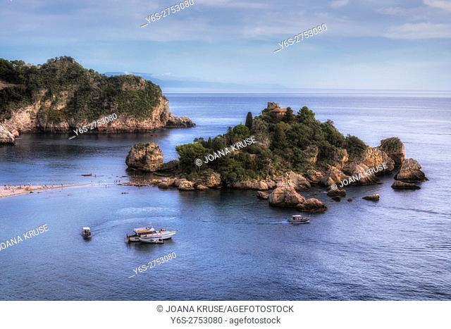 Isola Bella, Taormina, Messina, Sicily, Italy