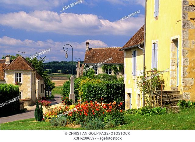 Loisail, village in the Regional Natural Park of Perche, Orne department, Lower Normandy region, France, Western Europe